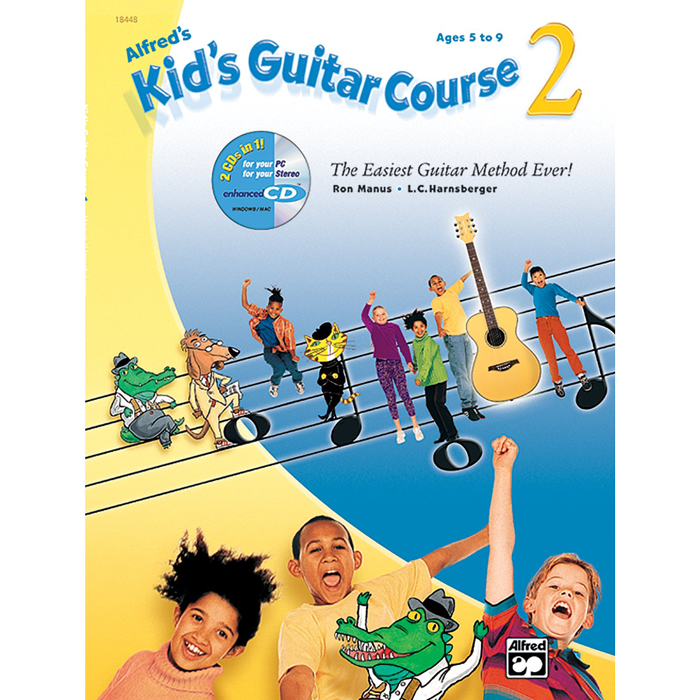 Alfred's Kid's Guitar Course 2 - Bananas At Large®