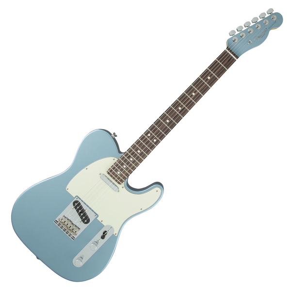 Fender Limited Edition American Standard Telecaster with Rosewood Fingerboard and Painted Headcap - Ice Blue Metallic - Bananas At Large®