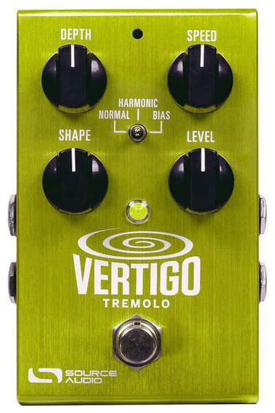 Source Audio SA243 One Series Veritgo Tremolo Pedal - Bananas at Large - 1