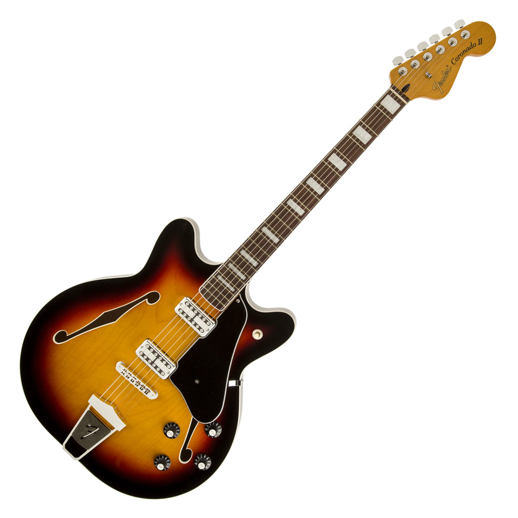 Fender Coronado Guitar with Rosewood Fingerboard - 3 Color Sunburst - Bananas At Large®