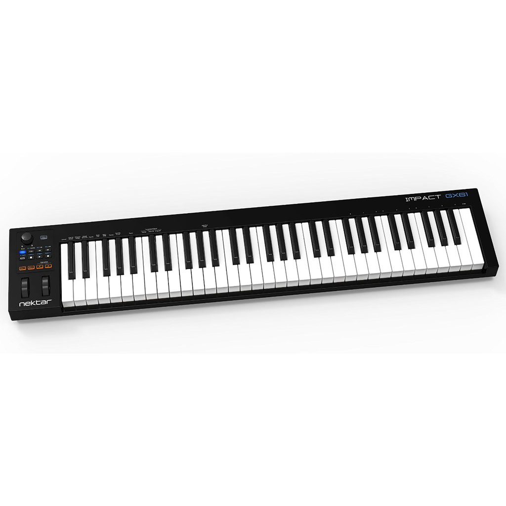 Nektar Impact GX61 61-Key USB MIDI Keyboard Controller - Bananas at Large - 1