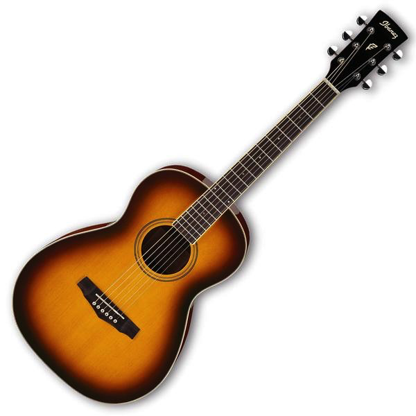 Ibanez PN15 Performance Parlor Body Acoustic Guitar - Brown Sunburst High Gloss - Bananas at Large