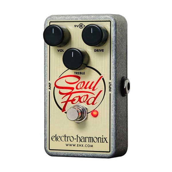 Electro-Harmonix Soul Food Distortion/Fuzz/Overdrive Pedal - Bananas At Large®