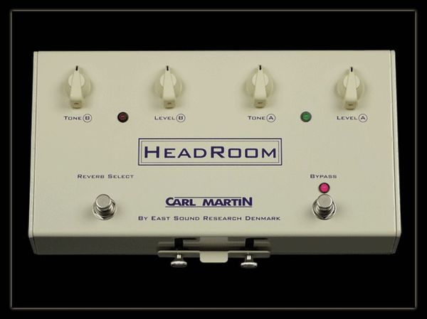 Carl Martin HeadRoom Analogue, Real Spring, Reverb Pedal - Bananas At Large®
