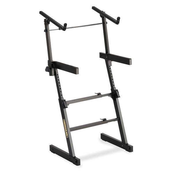 Hercules AutoLock Z Keyboard Stand with 2nd Tier - Bananas at Large