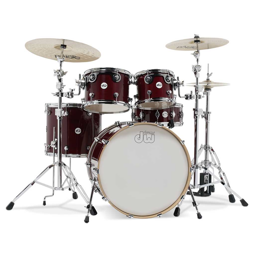 DW DDLG2215CS Design Series 5 Piece Drum Kit - Cherry Stain - Bananas at Large