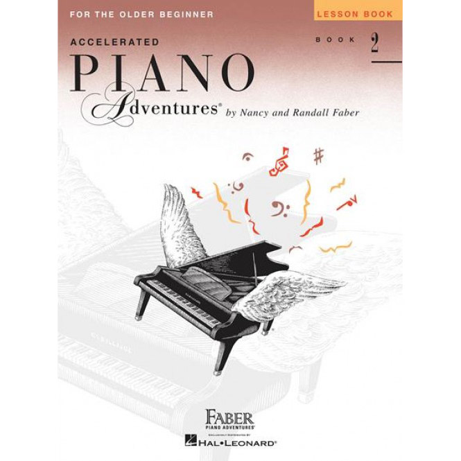 Hal Leonard Accelerated Piano Adventures for the Older Beginner Lesson Book 2 - Bananas At Large®
