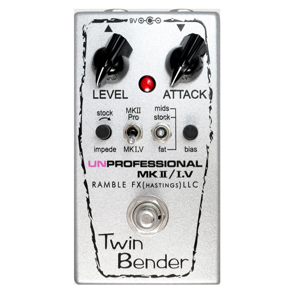 Ramble FX Twin Bender 3 MKII/MK1.5 In One Pedal - Bananas at Large - 1