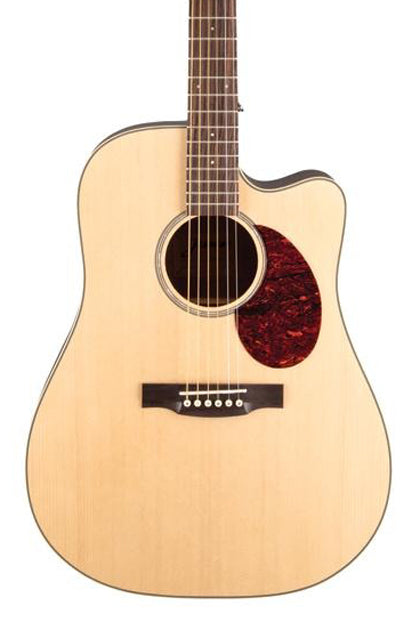 Takamine Jasmine JD37CE-NAT Solid Top Dreadnought Acoustic-Electric Cutaway