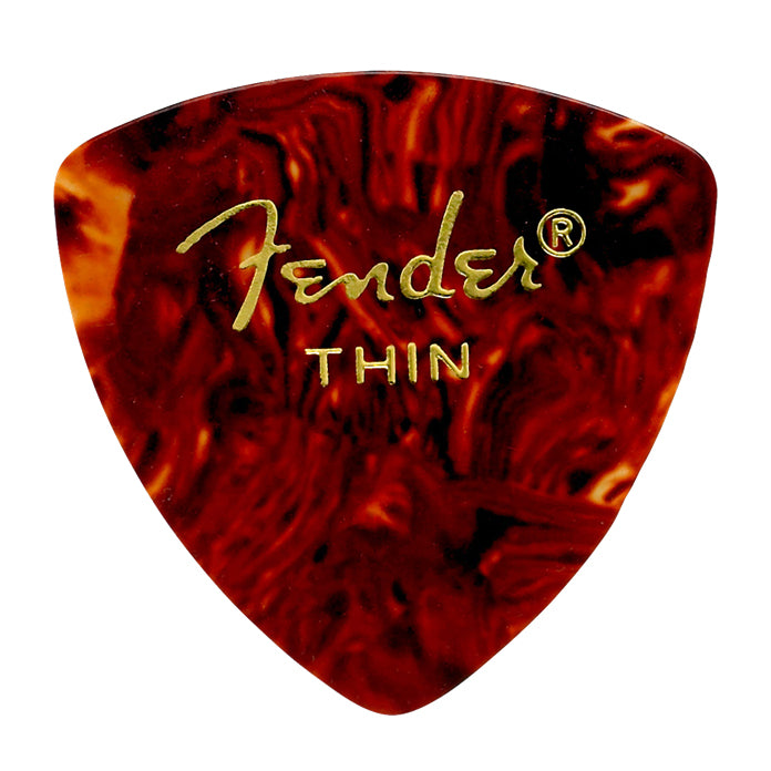 Fender 346 Shape 12 Pack Picks - Classic Celluloid