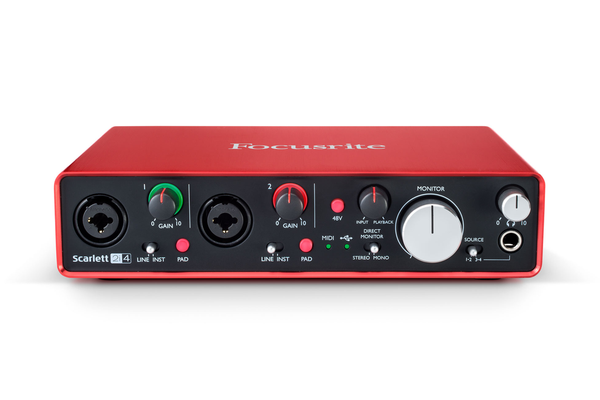 Focusrite Scarlett 2i4 (2nd Gen) USB Audio Interface - Bananas at Large - 1