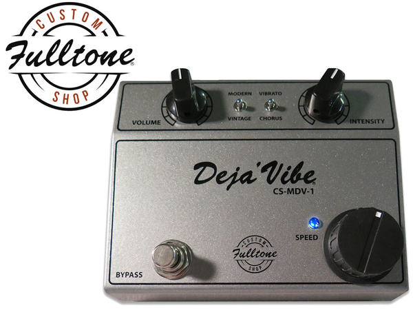 Fulltone Custom Shop MDV-1 Mini Deja Vibe Chorus Pedal - Bananas at Large