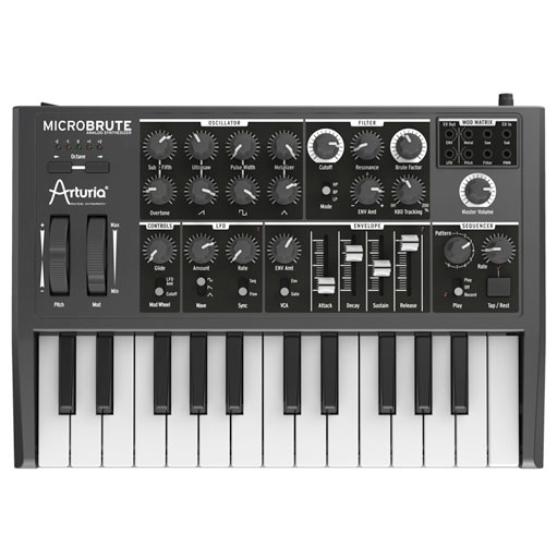Arturia MicroBrute Analog Synthesizer - Bananas at Large