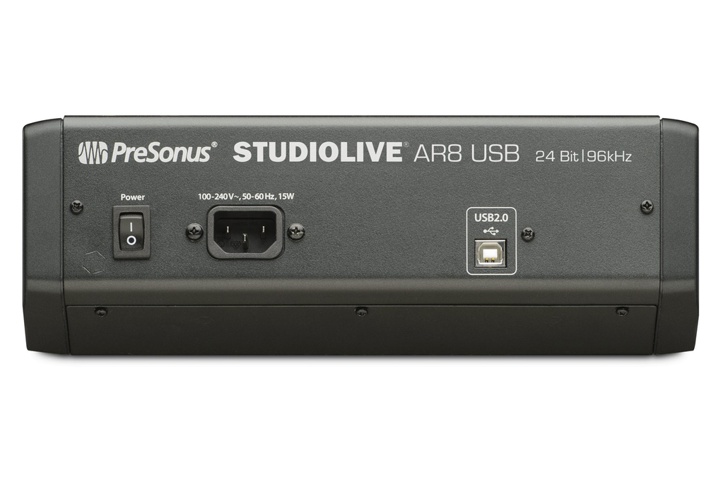 Presonus StudioLive AR8 USB 8-Channel Hybrid Digital/Analog Performance Mixer - Bananas at Large - 2
