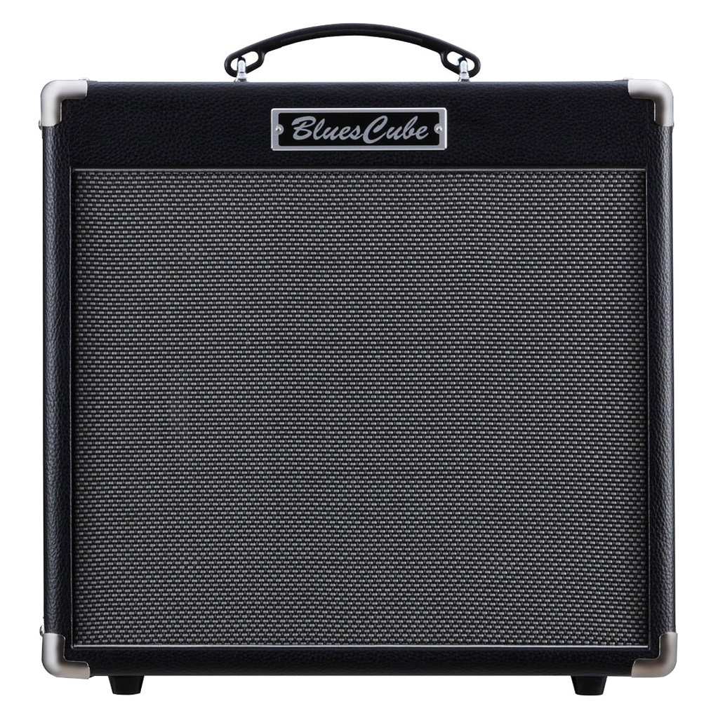 Roland Blues Cube Hot 30 Watt 1x12 Combo with Vintage Tone - Black - Bananas at Large