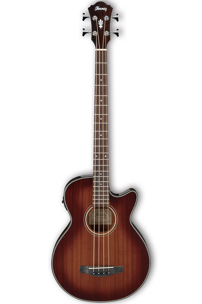 Ibanez AEGB14EMHS Acoustic Bass - Mahogany Sunburst - Bananas at Large