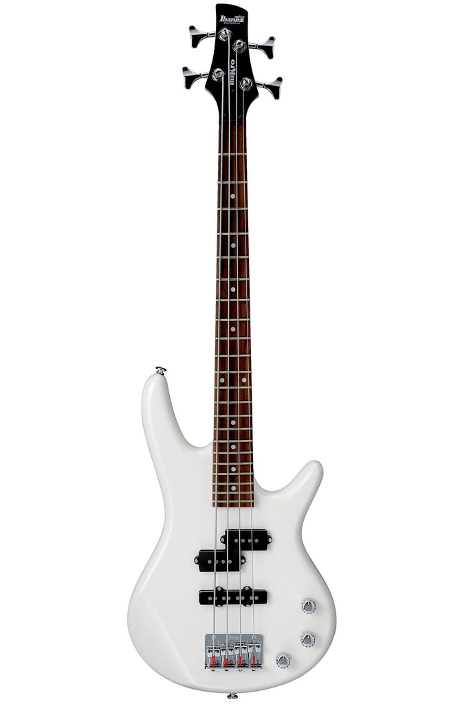 Ibanez GSRM20 Mikro Electric 4 String Bass - Pearl White - Bananas at Large - 2