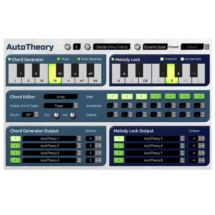 Mozaic Beats 11-31284 AutoTheory Chord Generator/Open Arp System [Download] - Bananas at Large