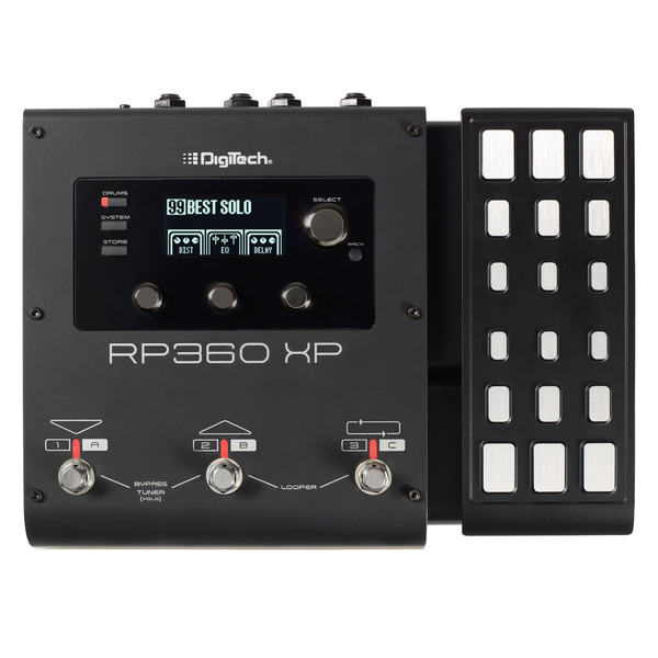 DigiTech RP360XP Multi-Effects Processor with USB Streaming and Expression Pedal