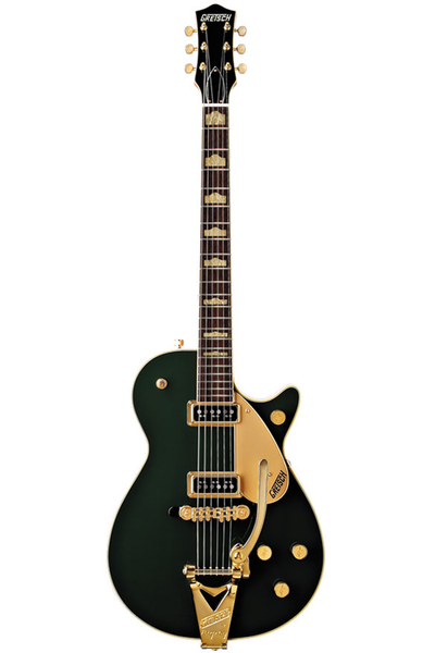 Gretsch G6128TCG Duo Jet with Bigsby - Cadillac Green - Bananas at Large