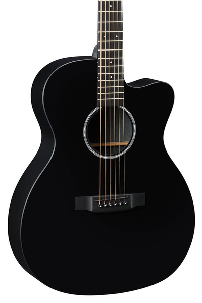 Martin X Series OMCXAE Acoustic Electric Guitar - Black