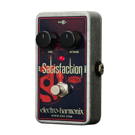 Electro Harmonix Satisfaction Fuzz Pedal for Guitar - Bananas at Large