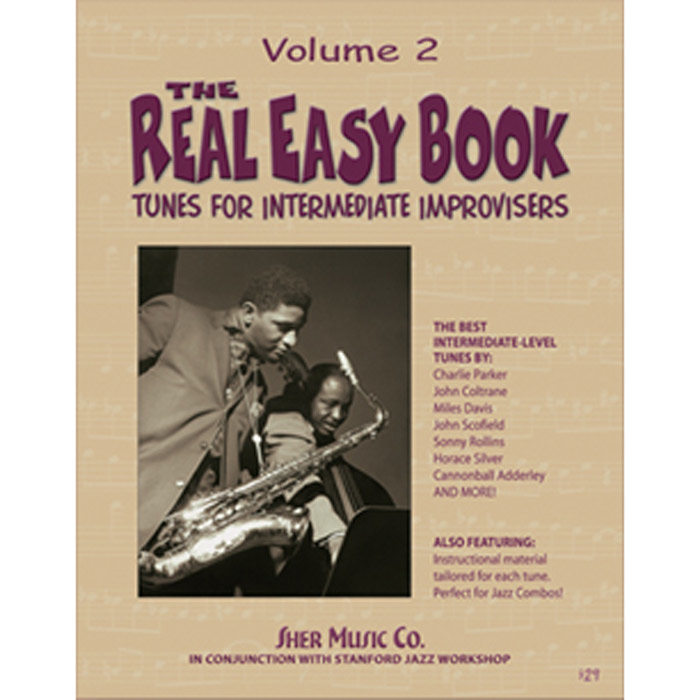 Sher Music The Real Easy Book Tunes For Intermediate Improvisers Volume 2 - C Edition - Bananas at Large