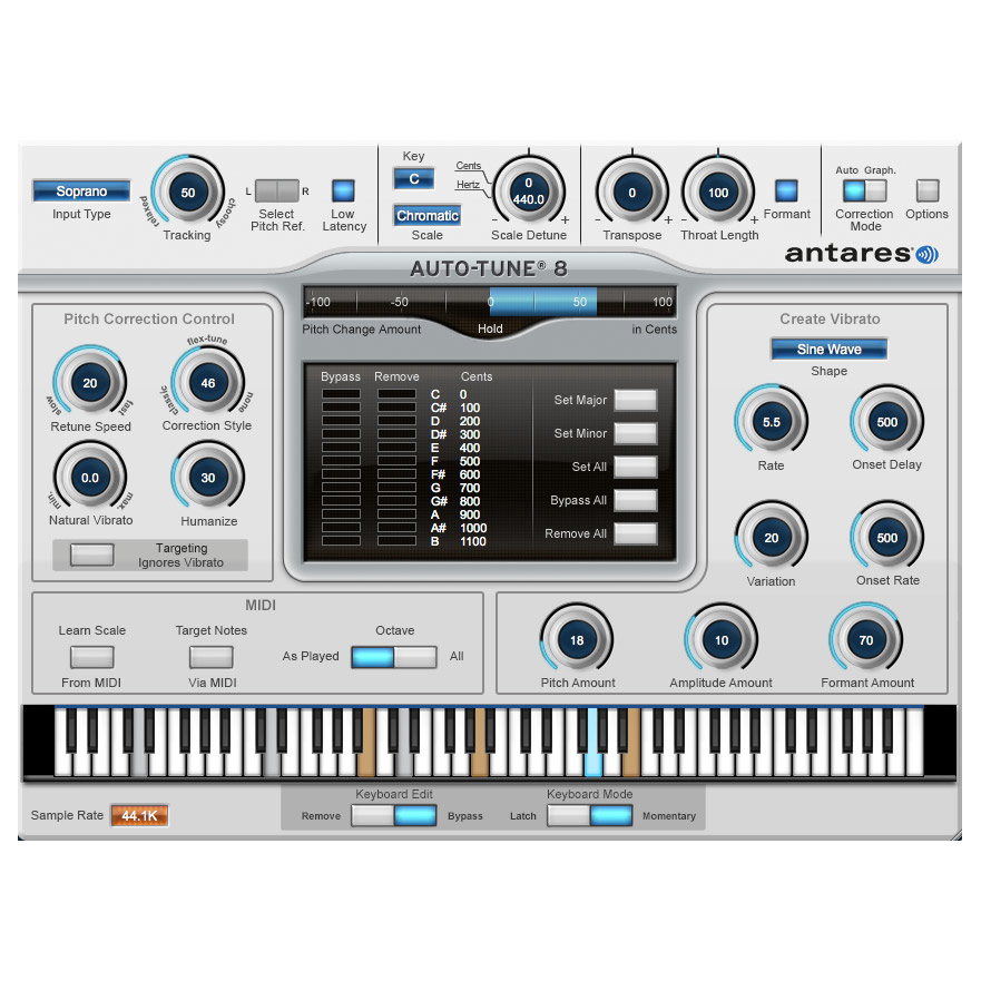 Antares Auto-Tune 8 Native Pitch Correction [Download] - Bananas At Large®