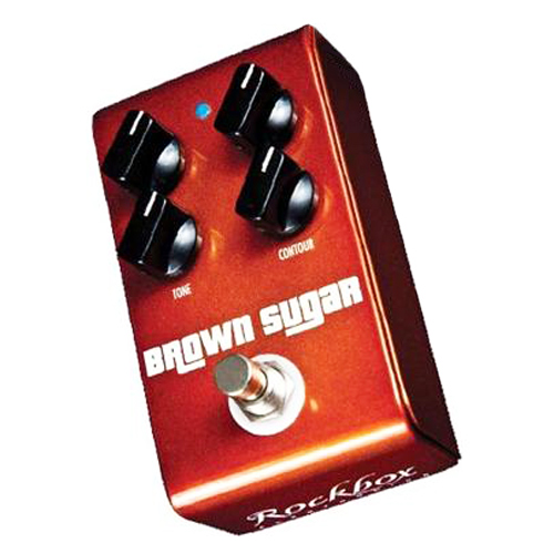 Rockbox Brown Sugar Distortion Pedal - Bananas at Large