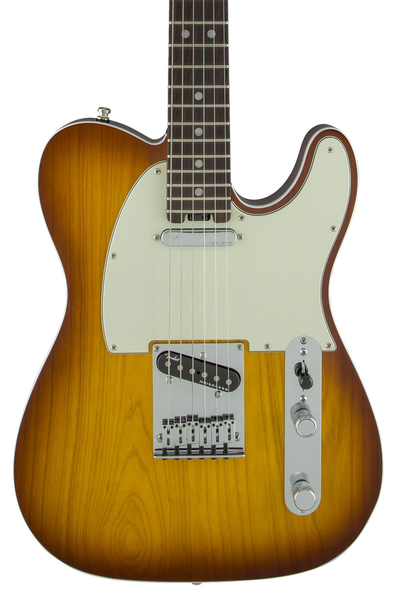 Fender American Elite Telecaster with Rosewood Fingerboard - Tobacco Sunburst