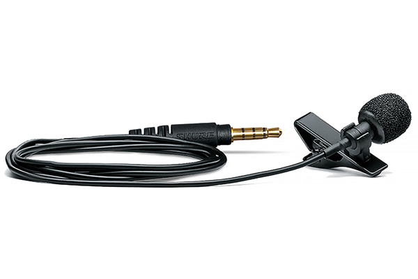 Shure MOTIV MVL Omnidirectional Lavalier Microphone for Mobile Devices