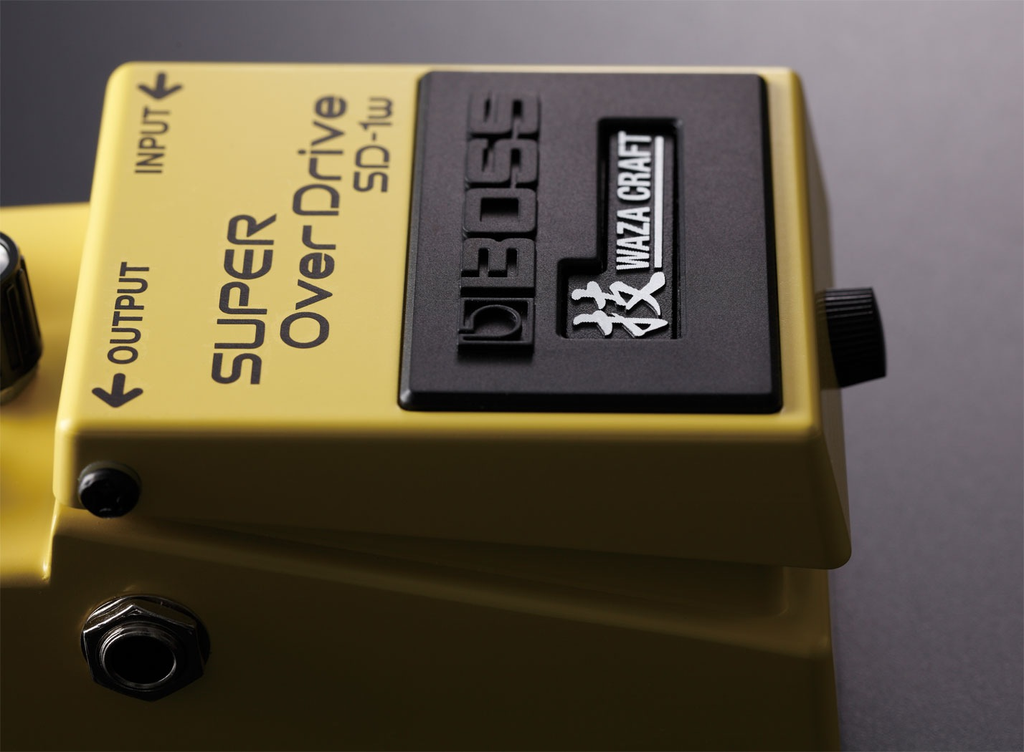 Boss SD-1W Super Overdrive Waza Craft Special Edition Pedal - Bananas at Large - 4