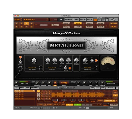 IK Multimedia AMPLITUBE METAL [Download] - Bananas At Large®