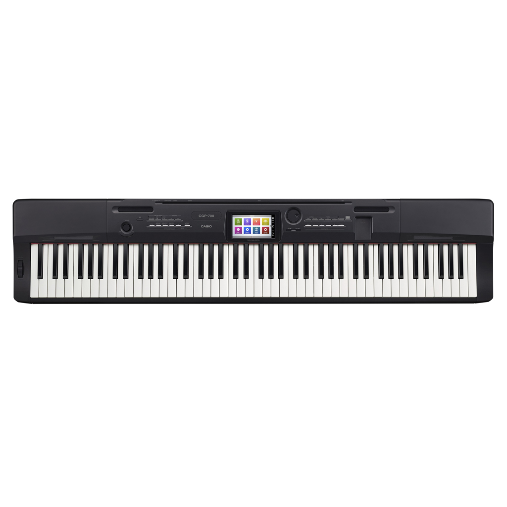 Casio CGP-700 88 Key Digital Compact Grand Piano - Black - Bananas At Large®