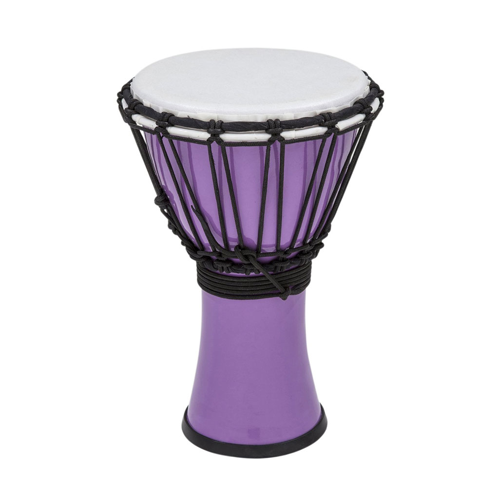 Toca Freestyle Colorsound 7 in. Djembe - Pastel Purple - Bananas at Large