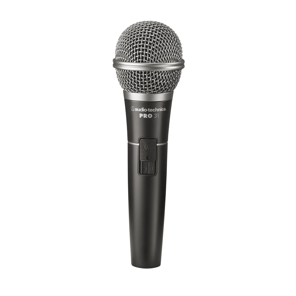 Audio Technica PRO31 Neodymium Cardioid Dynamic Handheld Microphone - Bananas At Large®