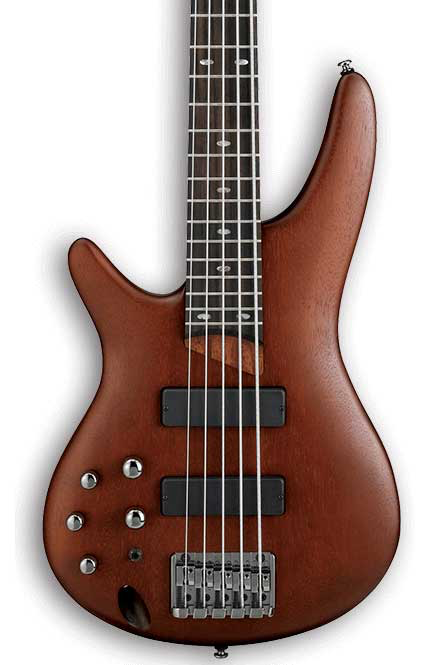 Ibanez SR505 Left Handed 5-String Electric Bass - Brown Mahogany