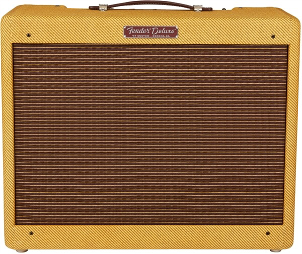 Fender 57 Custom Deluxe 12-Watt 1x12 Guitar Combo Amplifier - Lacquered Tweed - Bananas At Large®