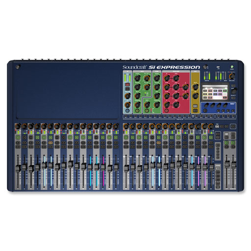Soundcraft Si Expression 3 Digital Mixer, 32-Channel - Bananas at Large
