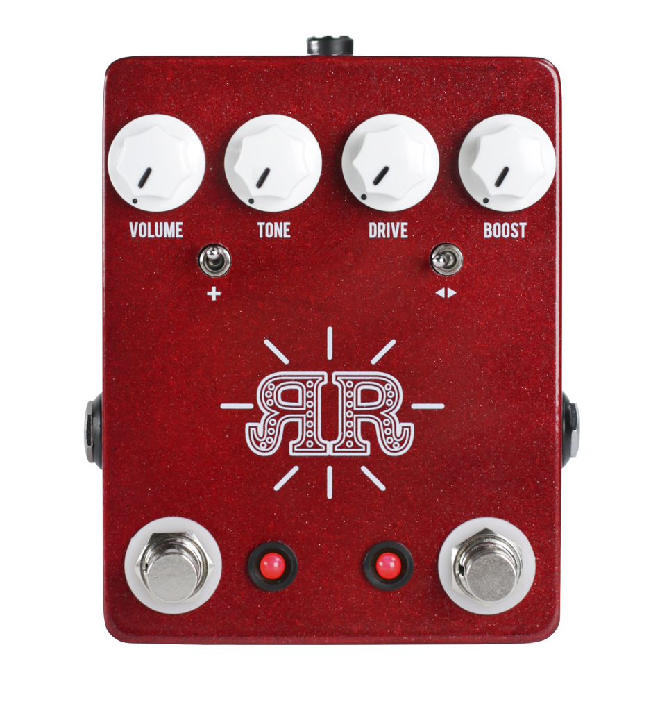 JHS Ruby Red Butch Walker Signature Model Pedal - Bananas At Large®
