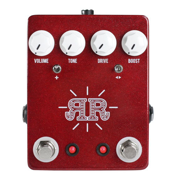 JHS Ruby Red Butch Walker Signature Model Pedal - Bananas at Large - 1