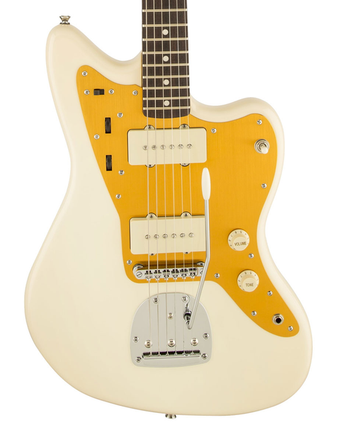 Squier J Mascis Jazzmaster with Rosewood Fingerboard - Vintage White