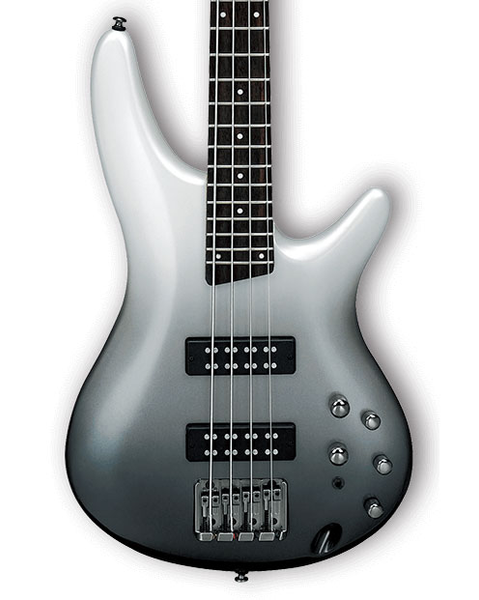 Ibanez SR300E SR Series 4-String Electric Bass - Pearl Black Fade Metallic - Bananas at Large - 1