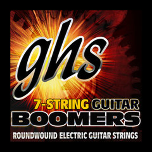 GHS GB7M Boomers 7-String Electric Guitar Strings Medium - Bananas At Large®
