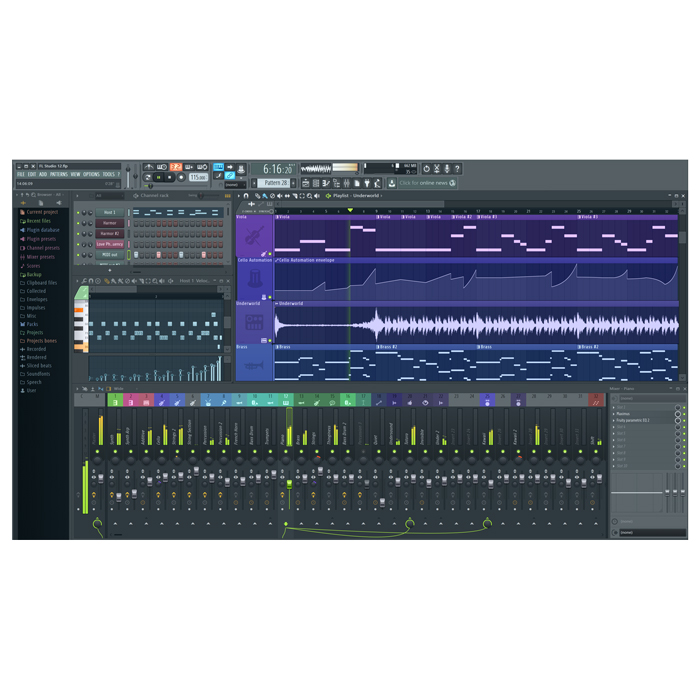 Image Line FL Studio 12 Producer Audio & MIDI Production Software [Download] - Bananas At Large®