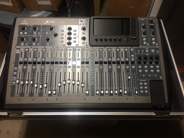 Behringer X32 Console with Original box and Odyssey Flight Case (Pre-Owned)