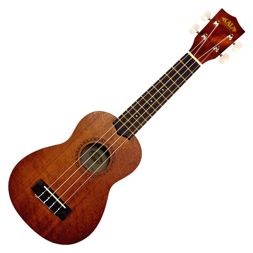 Kala KA-15s Satin Mahogany Soprano Ukulele No Binding - Bananas At Large®
