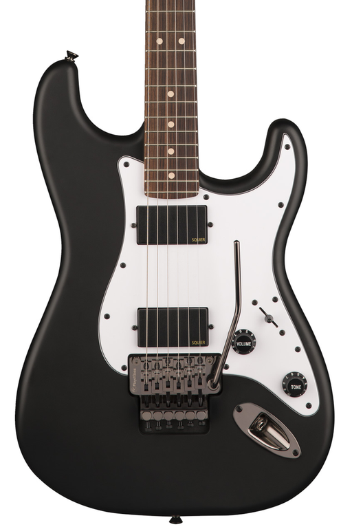 Squier Contemporary Active Statocaster HH with Rosewood Fretboard - Flat Black