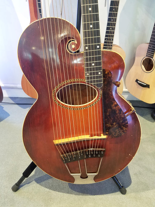 1917 The Gibson Harp Guitar Style U w/Case (Pre-Owned) (Glen Quan Private Collection)