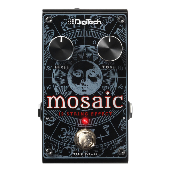 DigiTech Mosaic 12-String Polyphonic Effect Guitar Pedal - Bananas at Large - 1